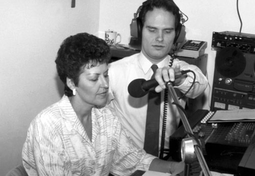 Joyce Meyer recording in 1987