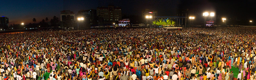 Joyce's Festival of Life in Hyderabad, India