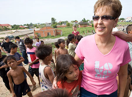 Joyce Meyer in Cambodia