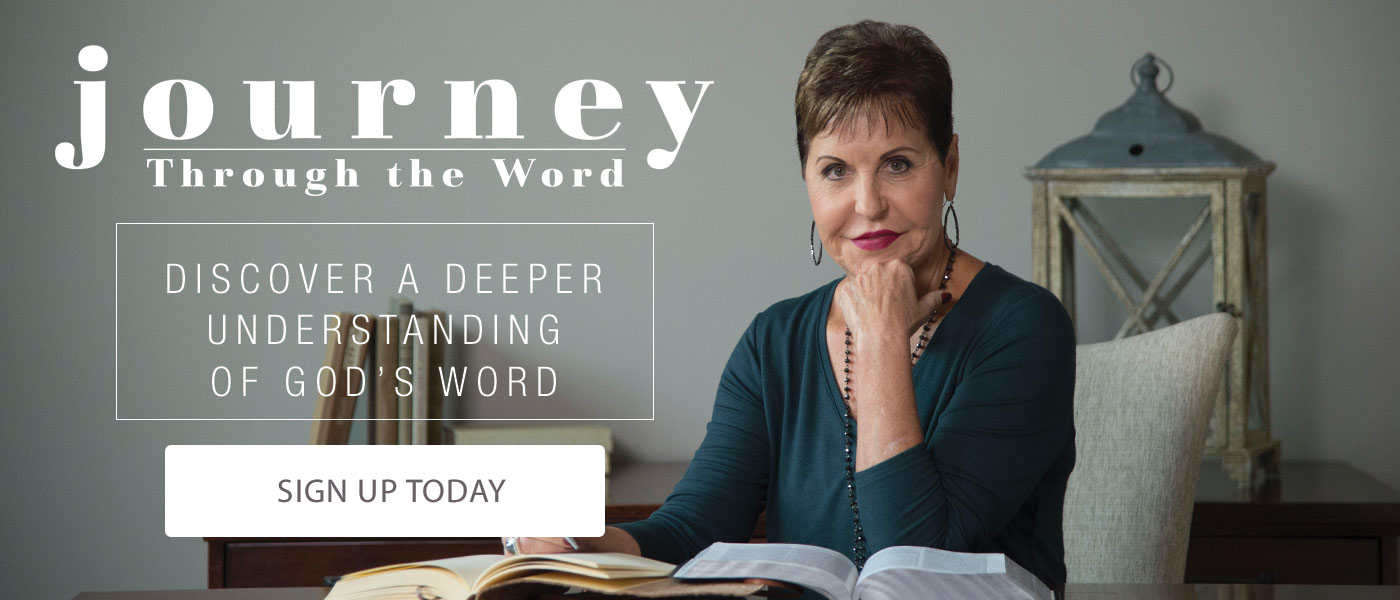 Journey Through the Word: Discover a Deeper Understanding of God's Word. Sign up today.